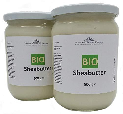 Sheabutter BIO 1 kg (2x 500 g...